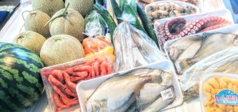 【余市・キロロリゾート赤井川村】余市で海産物・キロロリゾート赤井川村農家直売所で農産物を買って来ました。