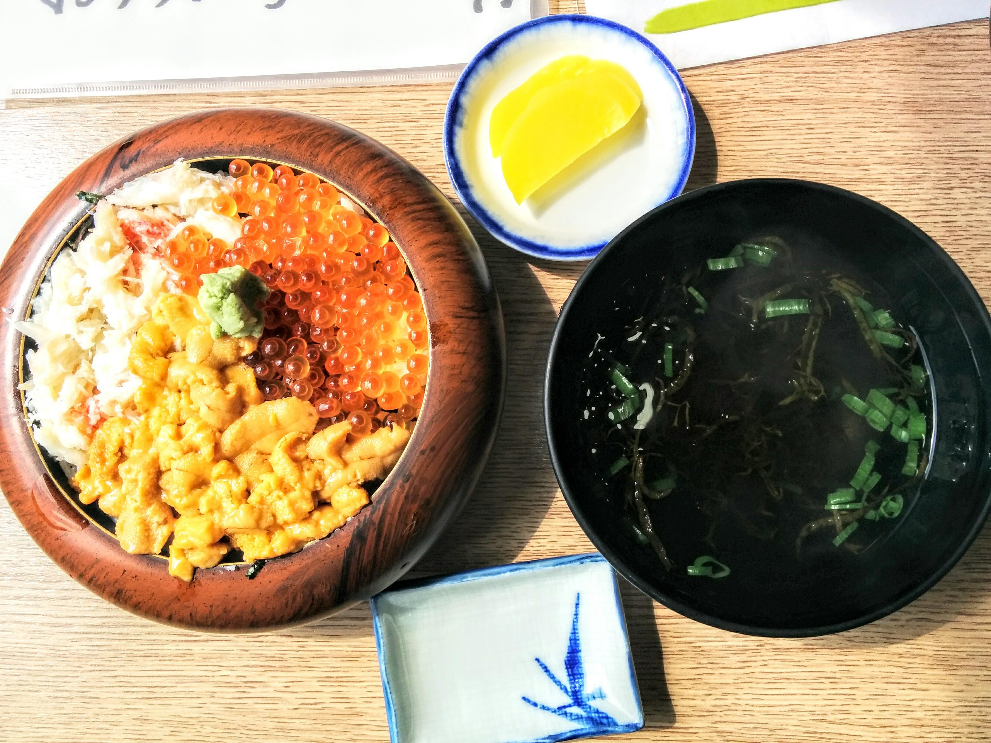 【積丹半島】日司町マル天・佐藤食堂グルメ案内です。