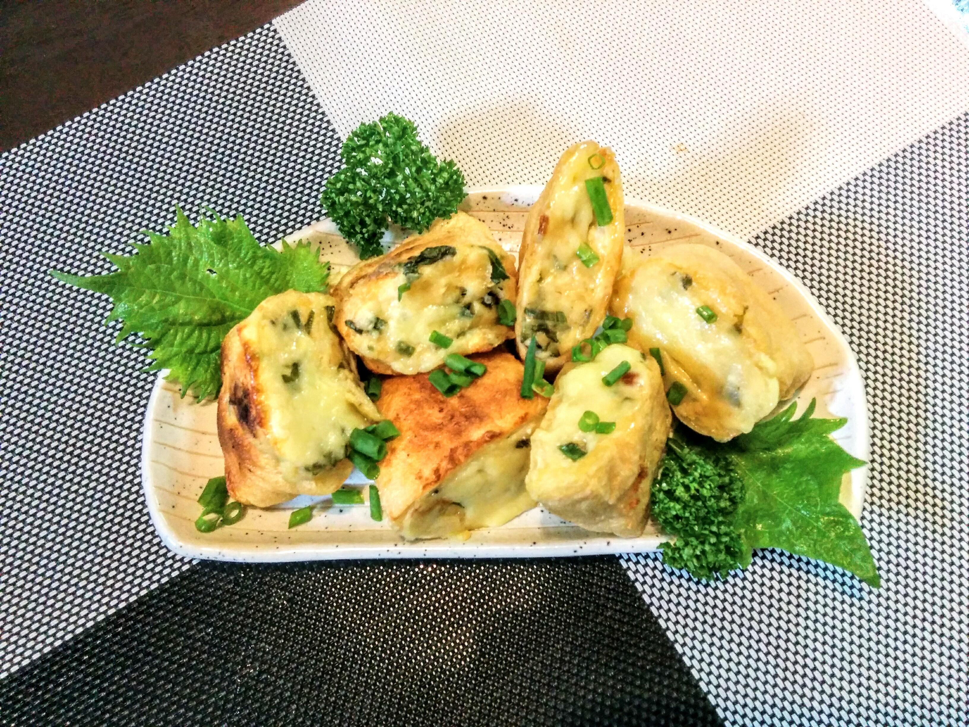 【小樽】お家御飯・油揚げのヘルシー豆腐チーズ焼きグルメ案内です。