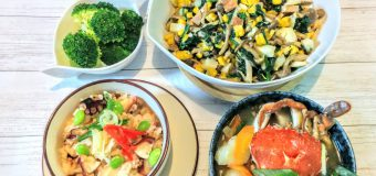【小樽】お家御飯・タコ飯とヘラガニの味噌汁グルメ案内です。