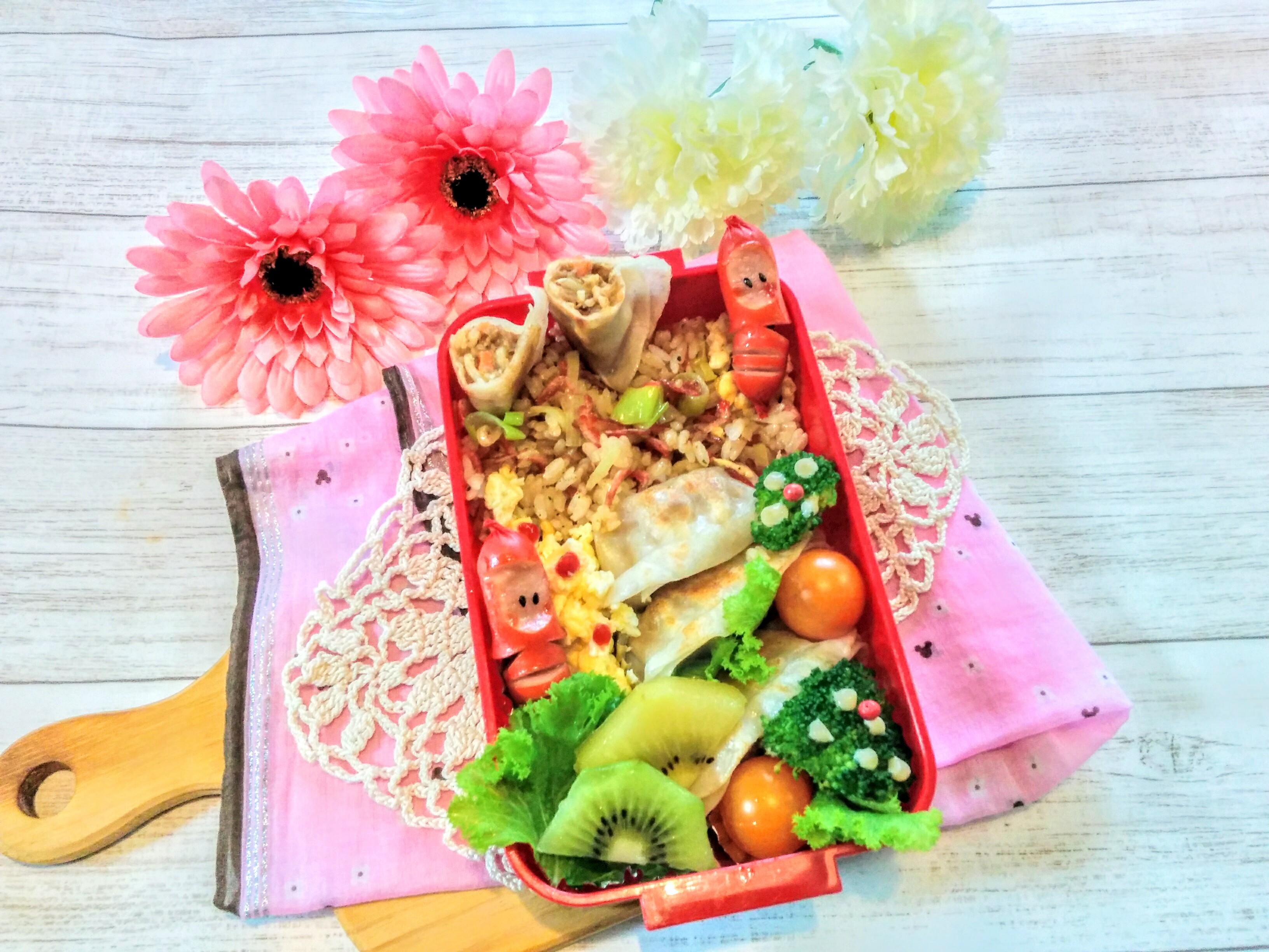 【小樽】娘の今日のお弁当・チャーハン弁当グルメ案内です。