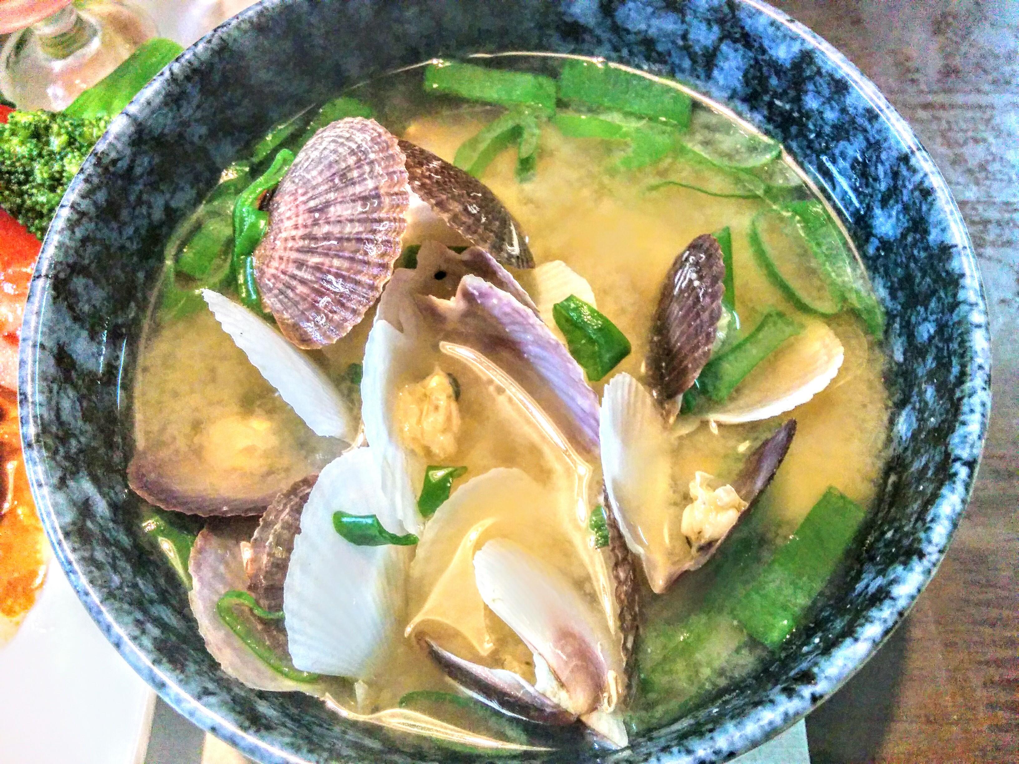 【小樽】お家御飯・ホタテの稚貝の味噌汁グルメ案内です。
