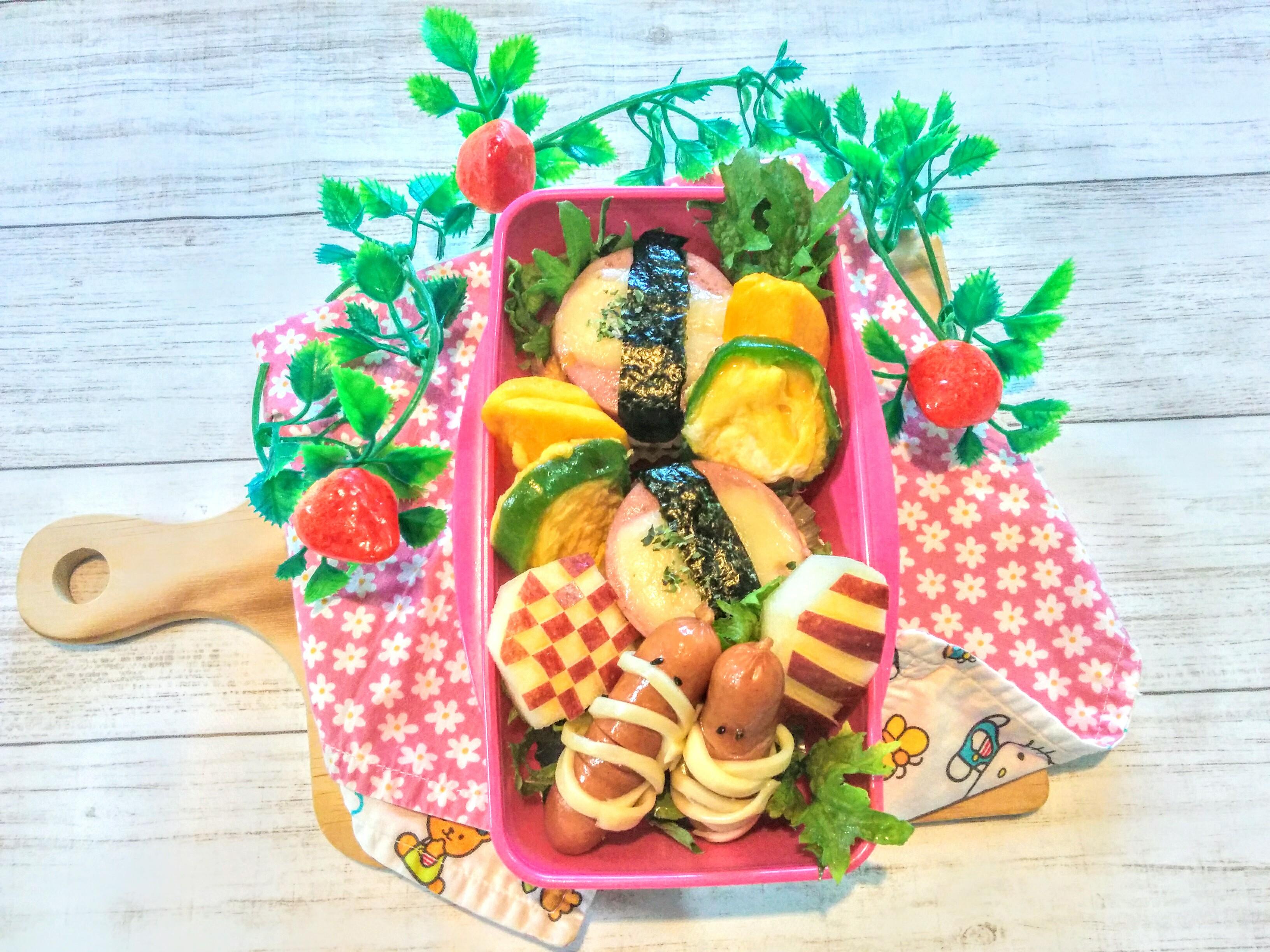 【小樽】娘の今日のお弁当・スパム弁当グルメ案内です。