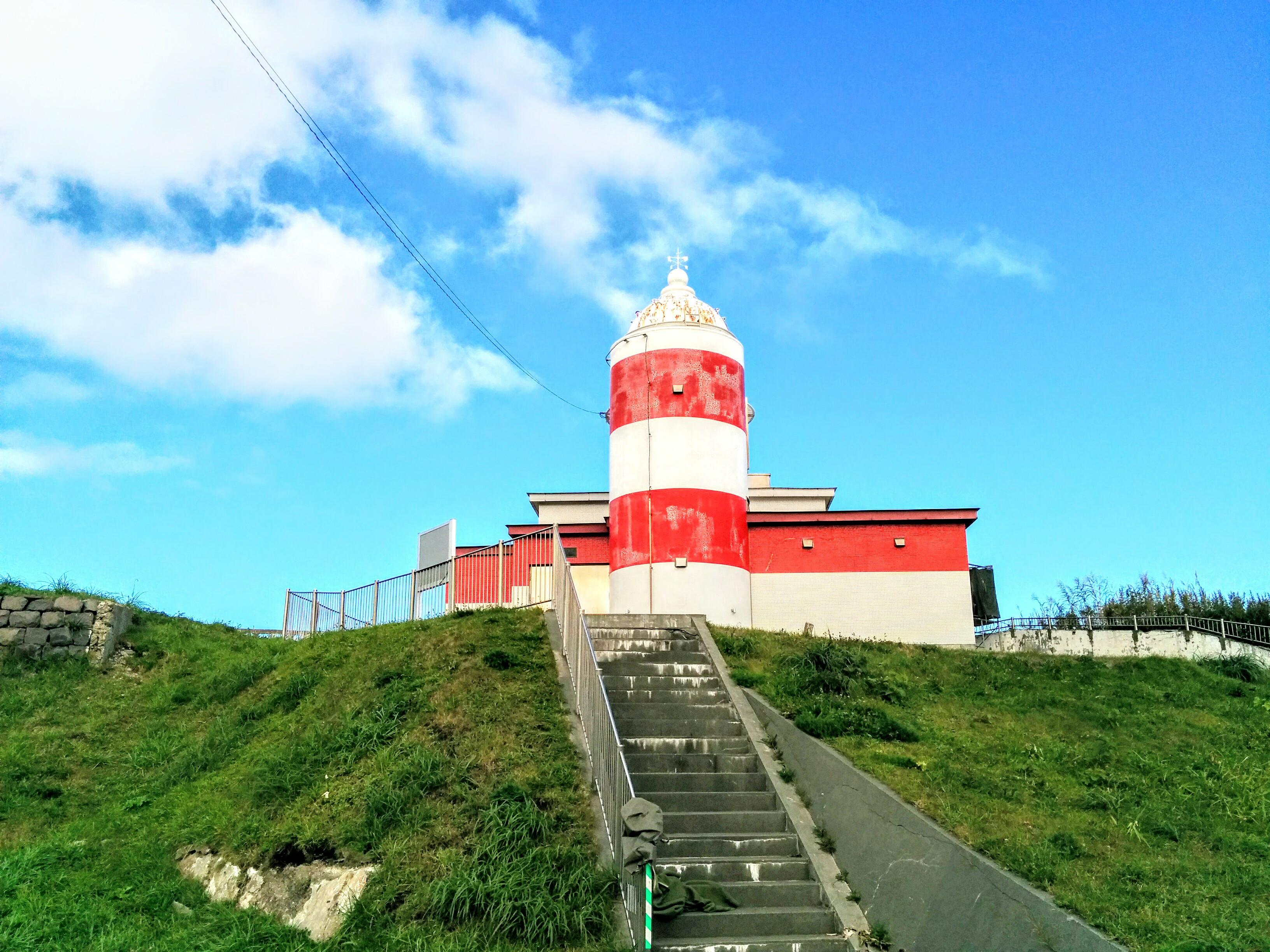 【小樽観光タクシー】日和山灯台観光案内です。