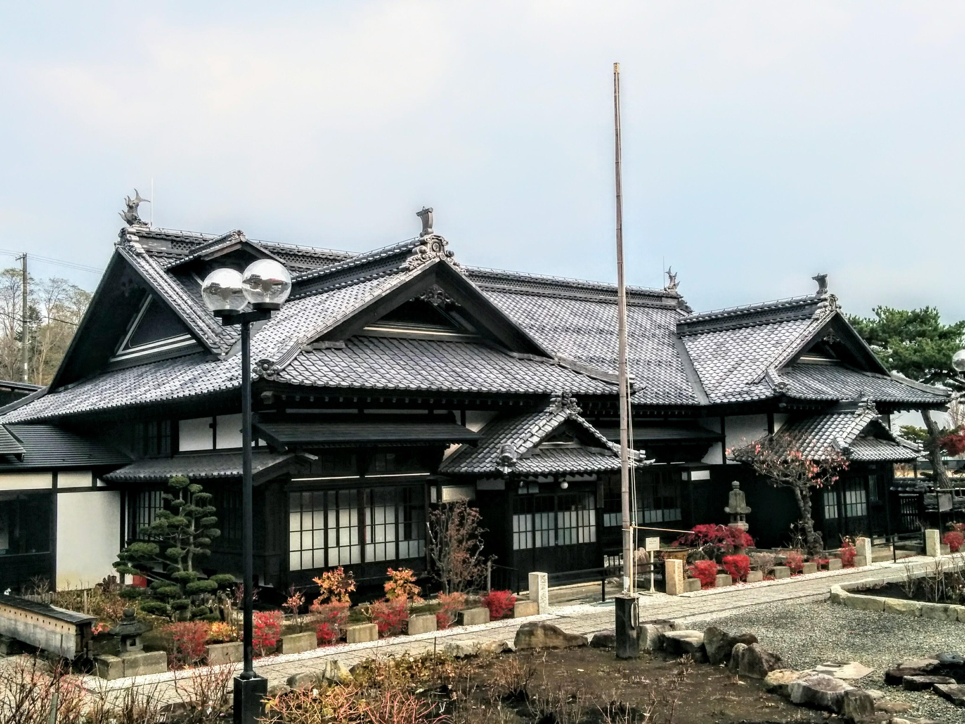 【小樽】観光タクシーの旧青山別邸観光案内です。