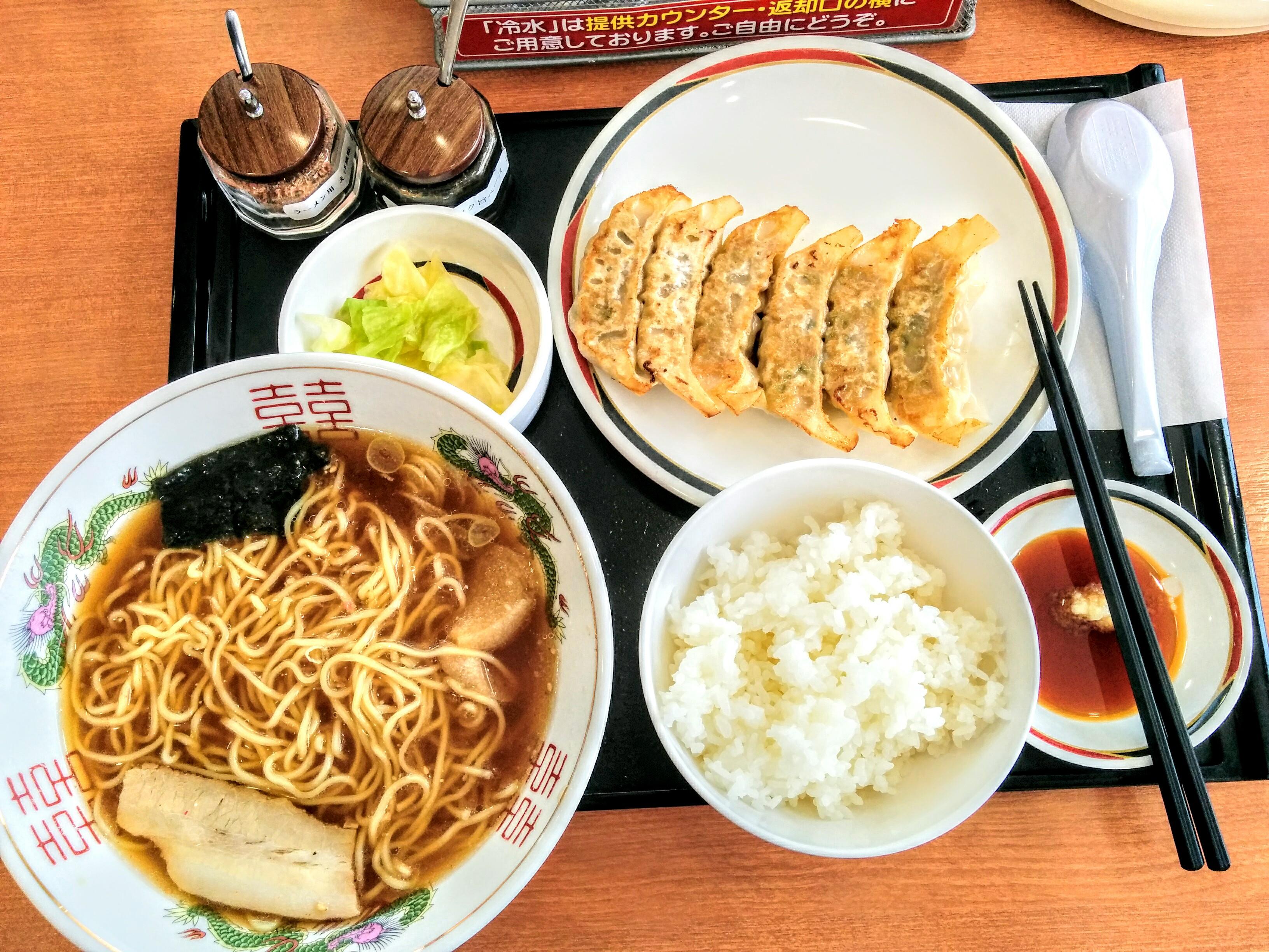 【札幌】みよしの餃子観光グルメ案内です。