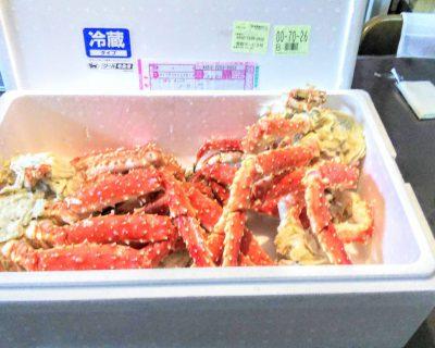 【小樽】北見枝幸の漁師の友人から嬉しい贈り物です。