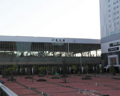 【JR旭川駅】旭川市での送迎観光タクシー・ジャンボタクシーです。