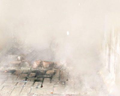 【登別温泉】冬の登別温泉・泉源公園間欠泉観光案内です。