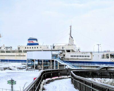 【函館】冬の函館観光タクシー・ジャンボタクシー