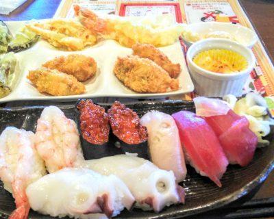 【余市】鮨ブッフェダイニングふじです。