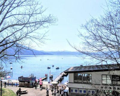【支笏湖】早春の支笏湖です。