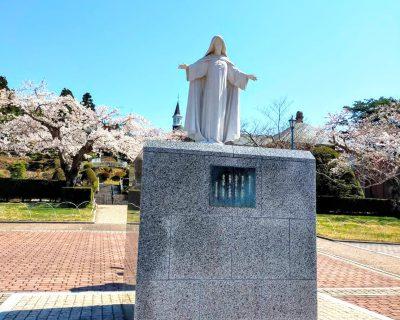 【函館】桜のトラピスチヌ修道院観光案内です。
