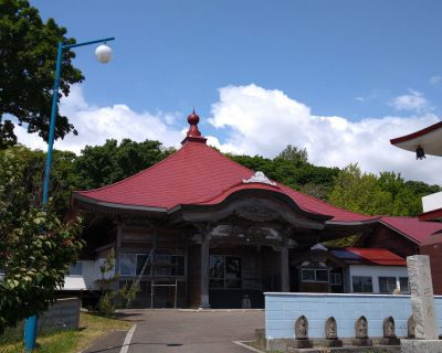 【積丹半島観光タクシー】西積丹泊村・法輪寺観光案内です。