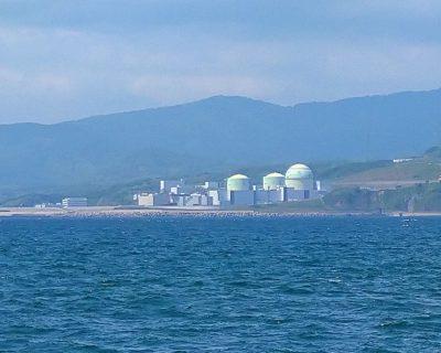 【積丹半島ジャンボタクシー】西積丹泊村・北海道電力(株)泊原子力発電所です。