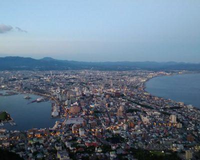 函館送迎観光貸切タクシー・ジャンボタクシーでの函館山観光案内です。